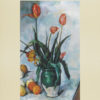 """Paul Cézanne """"Tulips in a Vase"""" Poster-0"""