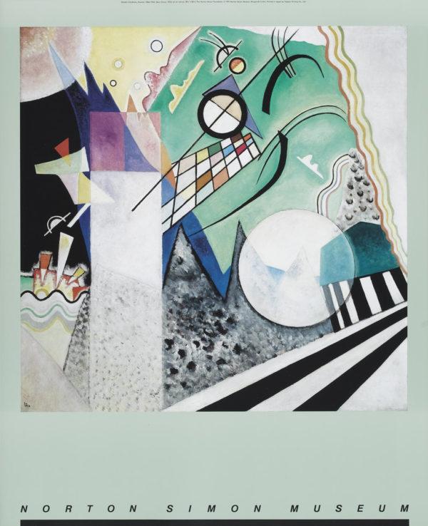 """Vasily Kandinsky """"Open Green"""" Poster-0"""