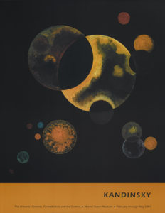 "Vasily Kandinsky ""Heavy Circles"" Poster-0"