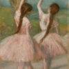 """Degas """"Dancers in Pink"""" Archival Digital Print (11"""" x 14"""" mat)-0"""