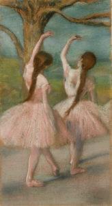 """Degas """"Dancers in Pink"""" Archival Digital Print (16"""" x 20"""" mat)-0"""
