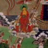 """Descent of the Buddha"" (detail) Archival Digital Print (11"" x 14"" mat)-0"