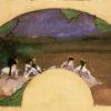 "Degas ""Fan: Dancers on the Stage"" Archival Digital Print (11"" x 14"" mat)-0"