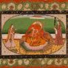 """Adoration of Ganesh"" Archival Digital Print (11"" x 14"" mat)-0"