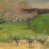 "Degas ""Olive Trees"" Archival Digital Print (11"" x 14"" mat)-0"