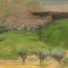 "Degas ""Olive Trees"" Archival Digital Print (16"" x 20"" mat)-0"