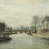 "Lepine ""The Pont Neuf, Paris"" Archival Digital Print (16"" x 20"" mat)-0"