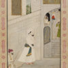 """Prince Entering A Mansion"" Archival Digital Print (16"" x 20"" mat)-0"