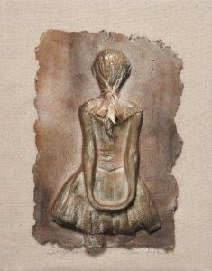 """""""Little Dancer Aged Fourteen"""" Paper Cast Sculpture-0"""