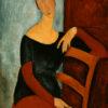 "Modigliani ""Portrait of the Artist's Wife"" Digital Print -0"