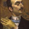 "Giovanni Boldini ""Portrait of a Dandy"" Archival Digital Print (11 x 14 inch mat)-0"