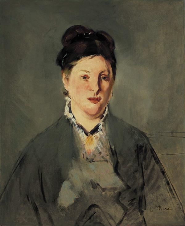 "Edouard Manet ""Madame Manet"" Archival Digital Print (16 x 20 inch mat)-0"