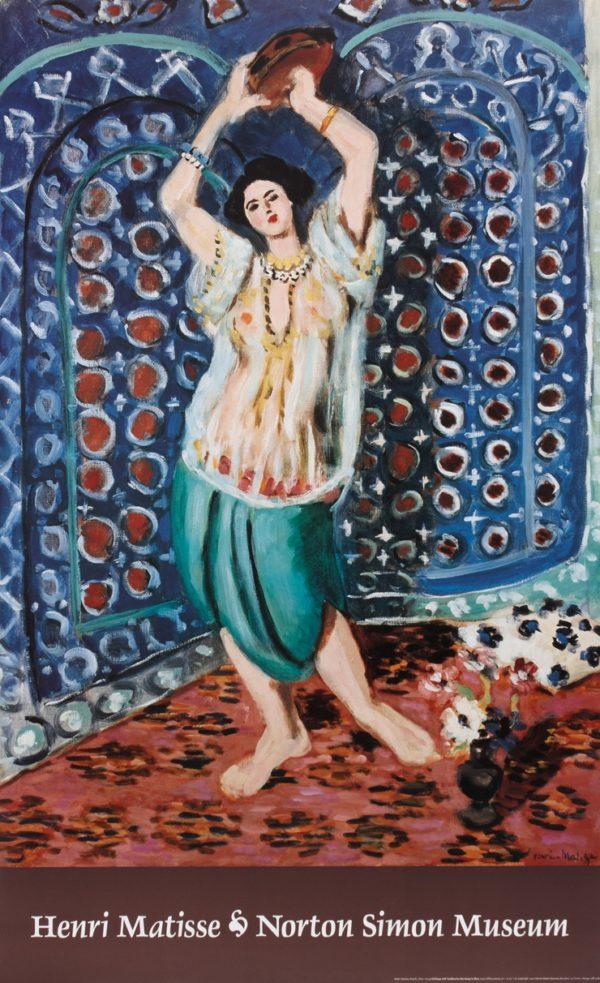 "Matisse ""Odalisque"" Poster-0"