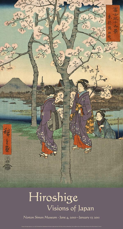 Hiroshige: Visions of Japan Exhibition Poster (Sumida River)-0