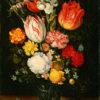 "Peter Binoit ""Flowers in a Glass Beaker"" Archival Digital Print (16"" x 20"" mat)-0"