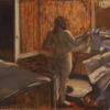 "Edgar Degas ""Woman Drying Herself After the Bath"" Archival Digital Print (11 x 14 inch mat)-0"