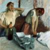 "Edgar Degas ""Women Ironing"" Archival Digital Print (16 x 20 inch mat)-0"