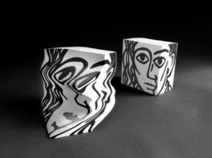 """Morph """"Portrait"""" Sculptural Paper Pad -0"""