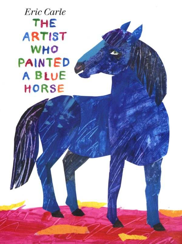The Artist Who Painted a Blue Horse-0