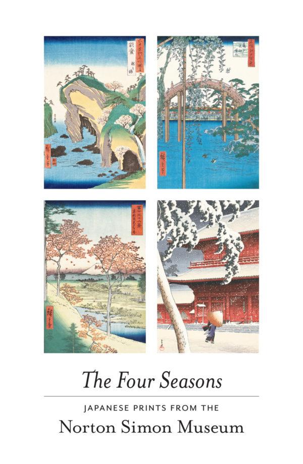 "Japanese Woodblock ""Four Seasons"" Boxed Notecards-0"