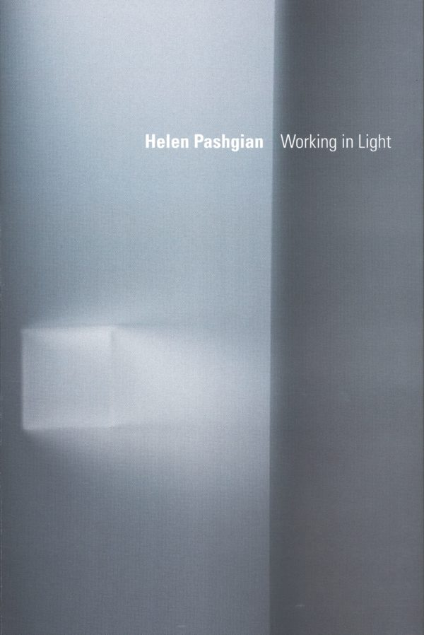 Helen Pashgian: Working in Light-0