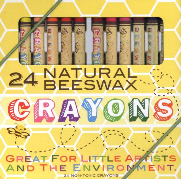 Natural Beeswax Crayons-0