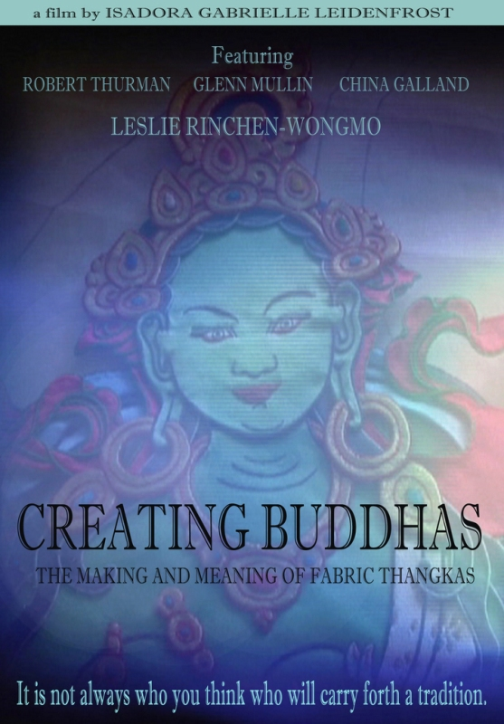 Creating Buddhas: The Making and Meaning of Fabric Thangkas (DVD)-0