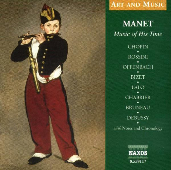 Manet: Music of His Time CD-0