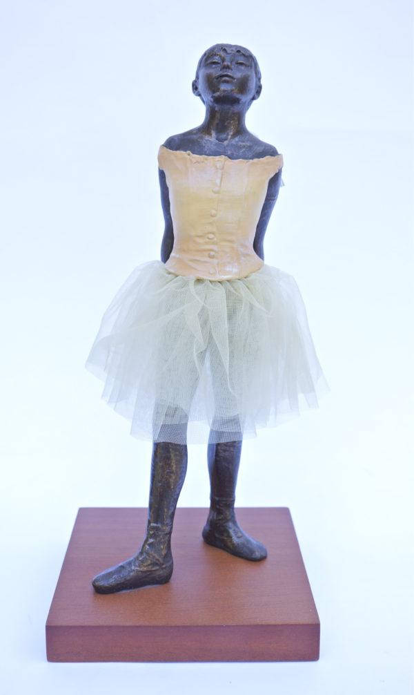 "Degas ""Little Dancer Aged Fourteen"" Sculpture Reproduction (13.5"")-0"
