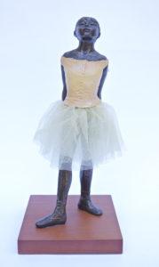"Degas ""Little Dancer Aged Fourteen"" Sculpture Reproduction (8.5"")-0"