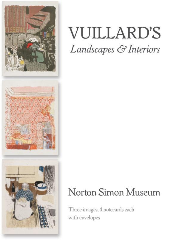 "Vuillard's ""Landscapes and Interiors"" Boxed Notecard Set-0"