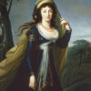 "Vigee-Lebrun, ""Portrait of Theresa, Countess Kinsky"", Archival Digital Print (16x20 inch mat)-0"