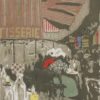 """Edouard Vuillard, """"Landscapes and Interiors: The Pastry Shop"""", Archival Digital Print (11x14 inch mat)-0"""