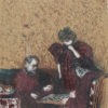 """Edouard Vuillard, """"Landscapes and Interiors: The Game of Checkers"""", Archival Digital Print (16x20 inch mat)-0"""