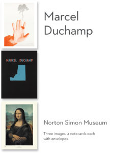 "Marcel Duchamp ""Duchamp to Pop"" Boxed Notecards-0"