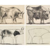 Picasso Lithographs Boxed Notecards-1910