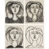 Picasso Lithographs Boxed Notecards-0