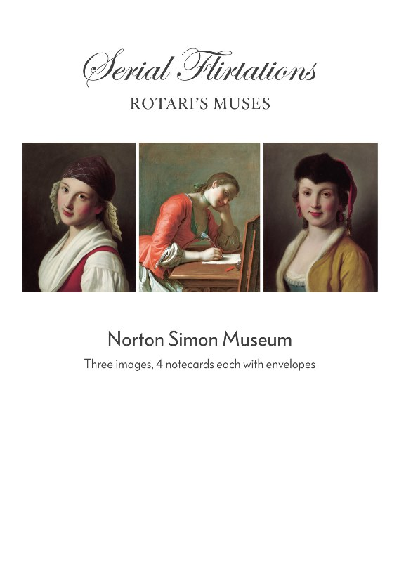 """Serial Flirtations: Rotari's Muses"" Boxed Notecards-0"
