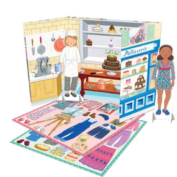 Baker & Painter Paper Dolls-2002
