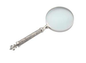 Fleur-de-Lis Handled Magnifier-0