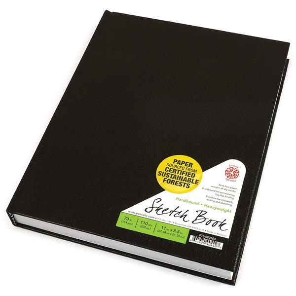 Pentallic Hardbound Sketchbook -0