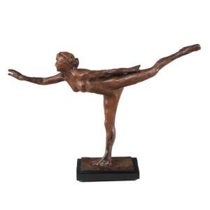 "Degas ""Arabesque"" Sculpture Reproduction (13"")-0"