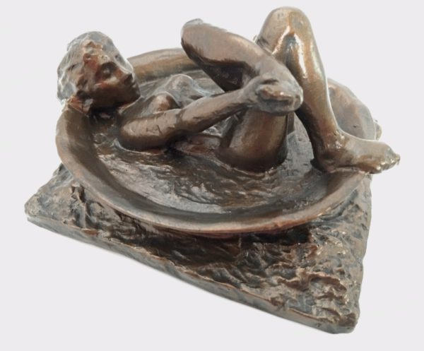 "Degas ""The Tub"" Sculpture Reproduction (5.5"")-0"