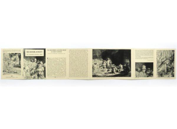 Rembrandt The Hundred Guilder Print (Eakins Pocket Album)-2235