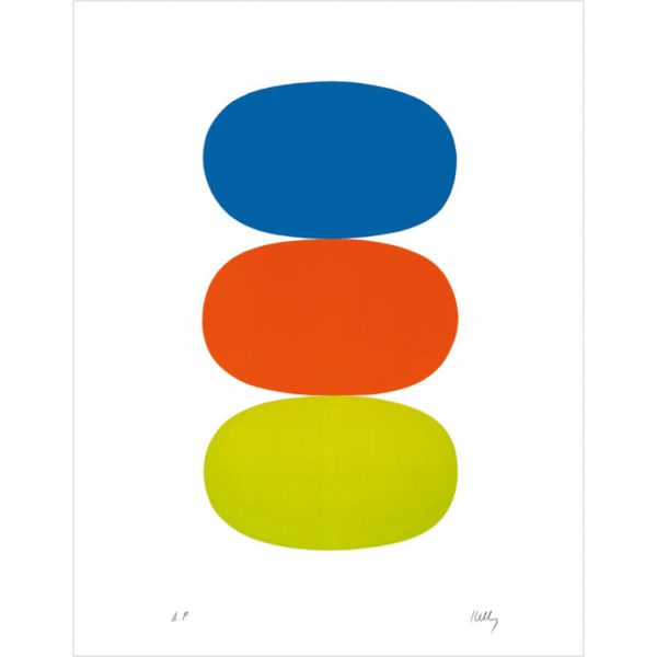 The Color Lithographs of Ellsworth Kelly Boxed Notecards-0