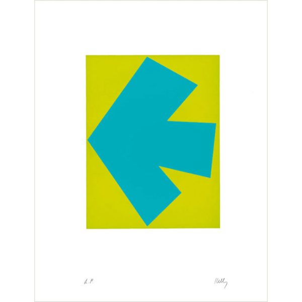 The Color Lithographs of Ellsworth Kelly Boxed Notecards-2312