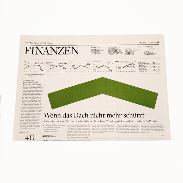 Die Welt German Newspaper: Ellsworth Kelly Artist's Commission-2356