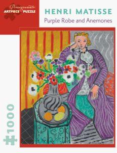 Henri Matisse 'Purple Robe and Anenomes' 1000 piece puzzle-0