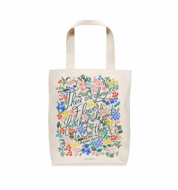 Henri Matisse 'Seeing Flowers' tote bag-0