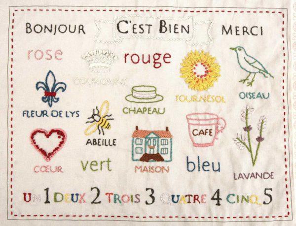 C'est Bien Embroidery Sampler Kit-2517